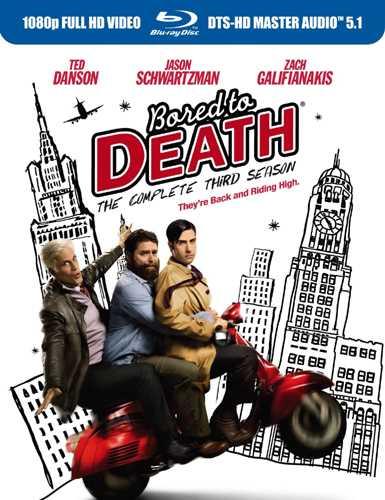 新品北米版Blu-ray!Bored to Death: The Complete Third Season [Blu-ray]!