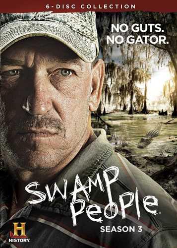 新品北米版DVD!【アリゲーター$ハンター~命知らずの男たち~】 Swamp People: Season 3!