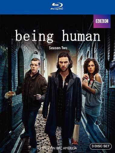 新品北米版Blu-ray!【ビーイング・ヒューマン:シーズン2】 Being Human: Season Two [Blu-ray]!