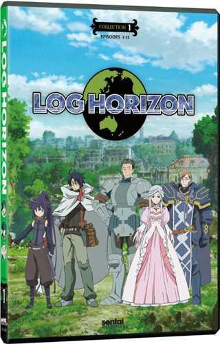 新品北米版DVD!【ログ・ホライズン】【1】第1話~第13話!