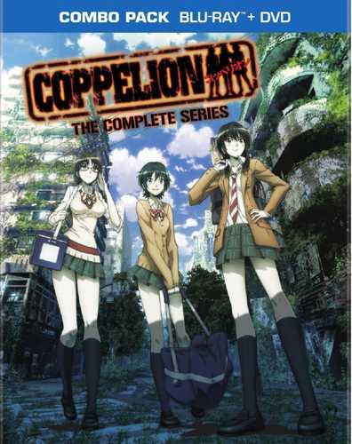 新品北米版Blu-ray! 【COPPELION(コッペリオン)】全13話!