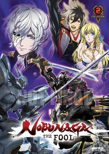 新品北米版DVD!【ノブナガ・ザ・フール】【2】第14話~最終第26話!