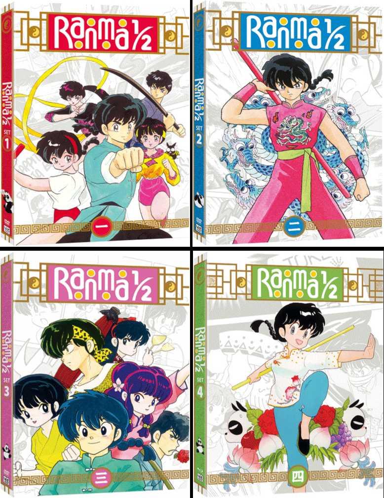 新品北米版DVD!【らんま1/2】 全161話!<全話セット>
