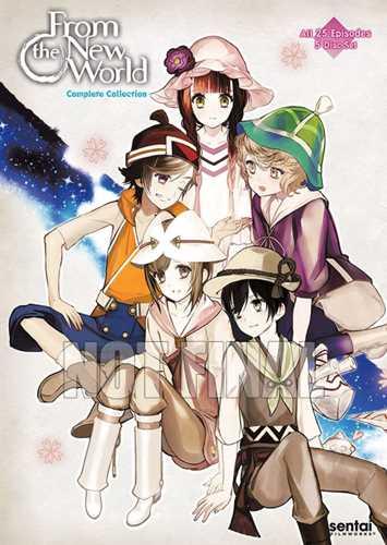 新品北米版DVD!【新世界より】 全25話!