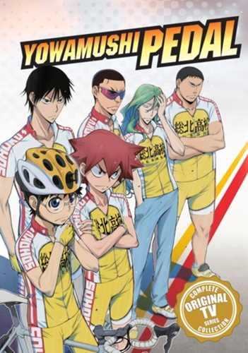 新品北米版DVD!【弱虫ペダル(第1期)】 全38話!