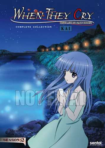新品北米版DVD!【ひぐらしのなく頃に解】 全24話!