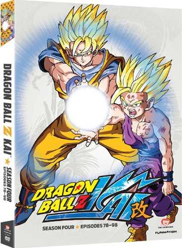 新品北米版DVD!【ドラゴンボール改】 【4】 第78話~第98話!