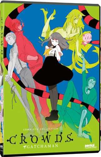 新品北米版DVD!【ガッチャマン クラウズ】全12話!
