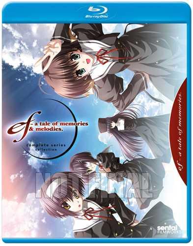 新品北米版Blu-ray!『ef - a tale of memories. 第1期 全12話』+『ef - a tale of memories. 第2期 全12話』