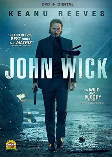 新品北米版DVD!【ジョン・ウィック】 John Wick!<キアヌ・リーヴス主演作>