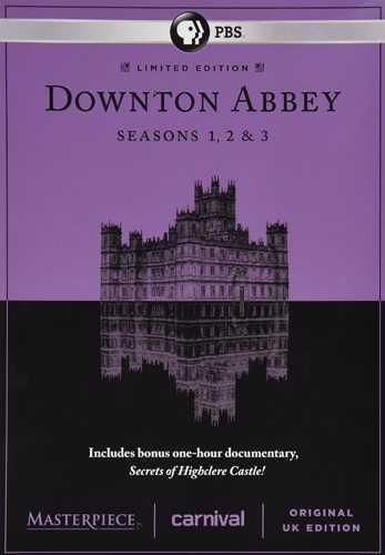 新品北米版DVD!【ダウントン・アビー 貴族とメイドと相続人:シーズン1~3】 Downton Abbey Season 1-3 (Original UK Edition)!