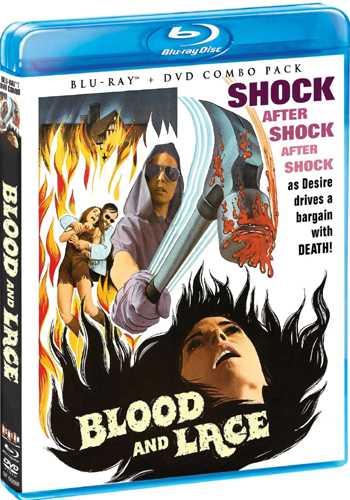 新品北米版Blu-ray!【未亡人館の惨劇】 Blood And Lace [Blu-ray/DVD]!