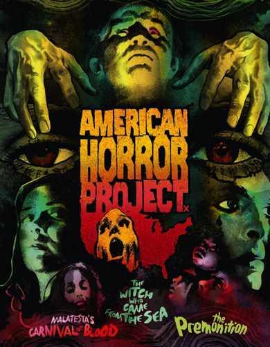 新品北米版Blu-ray!American Horror Project: Vol. 1 (6-Disc Special Edition) [Blu-ray/DVD]<Malatesta's Carnival Of Blood / The Witch Who Came From The Sea / The Premonition(プレモニション/呪われた絆)>