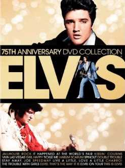 新品北米版DVD!Elvis: 75th Anniversary DVD Collection [17 Discs] [With Book/Memorabilia]!