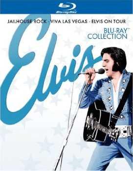 新品北米版Blu-ray!Elvis Blu-ray Collection: Jailhouse Rock/Viva Las Vegas/Elvis on Tour [3 Discs] [Blu-Ray]!