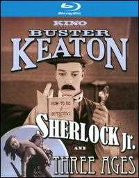 新品北米版Blu-ray!【キートンの探偵学入門/キートンの恋愛三代記】Sherlock JR./Three Ages [Special Edition] [2 Discs] [Blu-ray]
