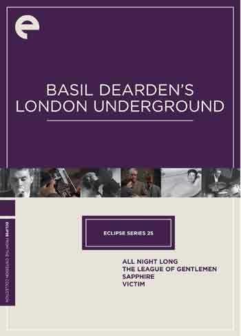新品北米版DVD!【ベイジル・ディアデン監督 4作品】(『サファイア』『紳士同盟』『犠牲者』『一晩中』)Basil Dearden's London Underground (Criterion Collection)