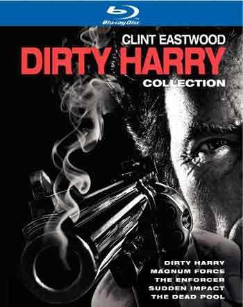 新品北米盤Blu-ray BOX!【ダーティハリー】Dirty Harry Collection [5 Discs]!