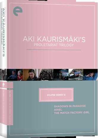 新品北米版DVD!【アキ・カウリスマキ 3作品セット】(『パラダイスの夕暮れ』『真夜中の虹』『マッチ工場の少女』) Eclipse Series 12: Aki Kaurismaki's Proletariat Trilogy