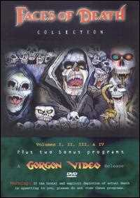 新品北米版DVD!The Original Faces of Death Collection VOL.1~4!
