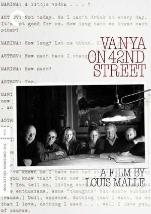 新品北米版DVD!【42丁目のワーニャ】 Vanya on 42nd Street (Criterion Collection)!