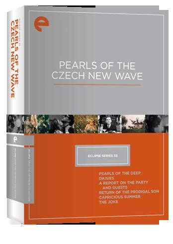 新品北米版DVD!【チェコ・ニューウェーヴ 4作品セット】 Eclipse Series 32: Pearls of the Czech New Wave