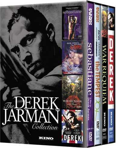 新品北米版DVD!デレク・ジャーマン4作品セット(『セバスチャン』『ヴィトゲンシュタイン』『テンペスト』『Derek』)