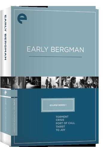 新品北米版DVD!【イングマール・ベルイマン 5作品セット】(『もだえ』『危機』『愛欲の港』『渇望』『歓喜に向って』) Eclipse Series 1: Early Bergman (Torment / Crisis / Port of Call / Thirst / To Joy) (The Criterion Collection)