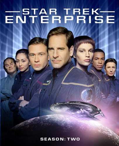 新品北米版Blu-ray!【スター・トレック:エンタープライズ:シーズン2】 Star Trek: Enterprise - Season Two [Blu-ray]!