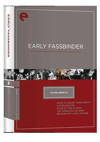 新品北米版DVD!【ライナー・ヴェルナー・ファスビンダー 初期5作品】 Eclipse Series 39: Early Fassbinder (Criterion Collection) !