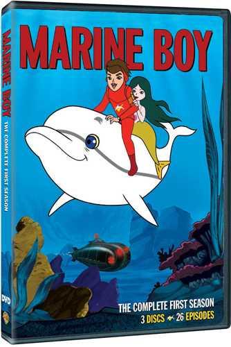 新品北米版DVD!【海底少年マリン シーズン1 全26話】 Marine Boy: The Complete First Season [3 Discs]!
