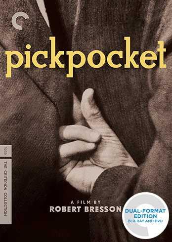 新品北米版Blu-ray!【スリ(掏摸)】 Pickpocket: Criterion Collection [Blu-ray/DVD]!