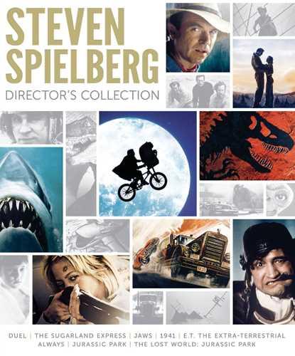 新品北米版Blu-ray!『激突!』『続・激突!カージャック』『ジョーズ』『1941』『E.T.』『オールウェイズ』『ジュラシック・パーク』『ロストワールド: ジュラシック・パーク』<スティーヴン・スピルバーグ監督作8作セット>