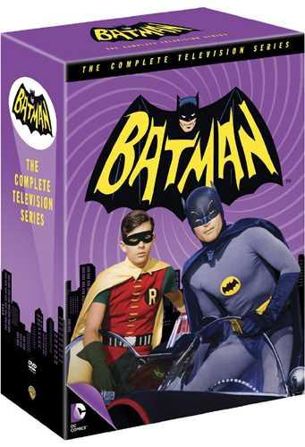 新品北米版DVD!【バットマン:コンプリート・TVシリーズ 全120話】 Batman The Complete TV Series!
