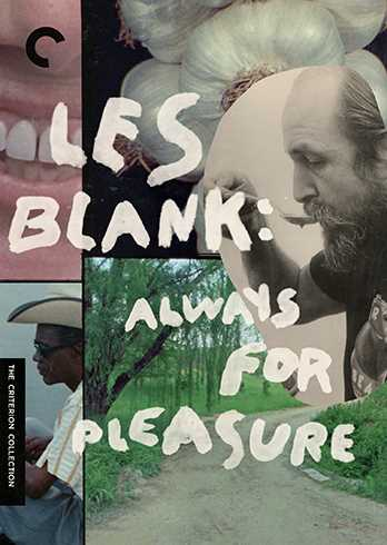 新品北米版DVD!Les Blank: Always For Pleasure: Criterion Collection!<レス・ブランク監督 音楽ドキュメンタリー作品集>