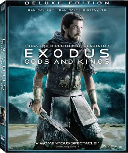 新品北米版Blu-ray!【エクソダス:神と王 3D】 Exodus: Gods & Kings [Blu-ray 3D/Blu-ray/DVD]!<リドリー・スコット監督作>