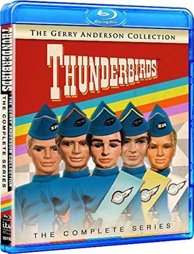新品北米版Blu-ray!【サンダーバード:コンプリート・シリーズ】 Thunderbirds: The Complete Series [Blu-ray]!<ジェリー・アンダーソン>