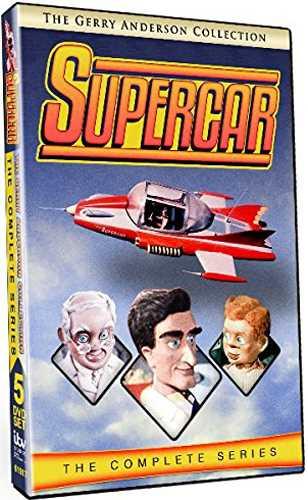 新品北米版DVD!【スーパーカー:コンプリート・シリーズ(全39話)】 Supercar: The Complete Series!<ジェリー・アンダーソン>