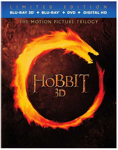 新品北米版Blu-ray 3D!The Hobbit: Motion Picture Trilogy (Blu-ray 3D/Blu-ray/DVD) <『ホビット 思いがけない冒険』『ホビット 竜に奪われた王国』『ホビット 決戦のゆくえ』>