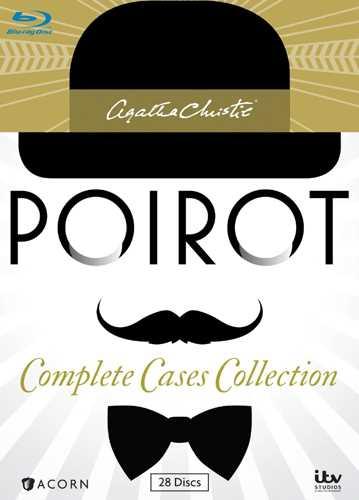 新品北米版Blu-ray!【名探偵エルキュール・ポアロ コンプリート・コレクション】Agatha Christie's Poirot: Complete Cases Collection [Blu-ray]!<アガサ・クリスティ>