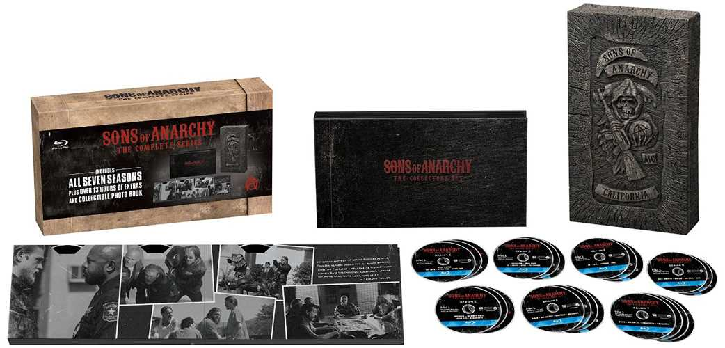 新品北米版Blu-ray!【サン・オブ・アナーキー:コンプリート・シリーズ(シーズン1~6)】 Sons of Anarchy The Complete Series [Blu-ray]!