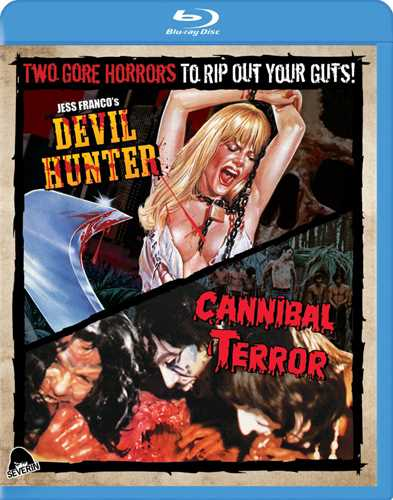 新品北米版Blu-ray!<『人喰い魔神・裸女狩り』『Devil Hunter』> Cannibal Terror/Devil Hunter [Blu-ray]!