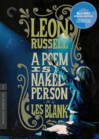 新品北米版Blu-ray!A Poem Is a Naked Person (The Criterion Collection) [Blu-ray]!<レオン・ラッセル>