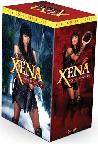新品北米版DVD!【ジーナ 全6シーズン コンプリートBOX】Xena: Warrior Princess - The Complete Series!<ルーシー・ローレス主演>