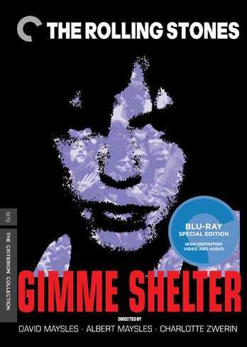 新品北米版Blu-ray!【ローリング・ストーンズ・イン・ギミー・シェルター】 The Rolling Stones: Gimme Shelter: Criterion Collection (Blu-ray)!
