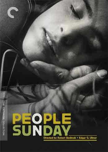 新品北米版DVD!【日曜の人々】People on Sunday (Criterion Collection)!