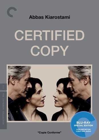 新品北米版Blu-ray!【トスカーナの贋作】 Certified Copy (Criterion Collection) [Blu-ray]!<アッバス・キアロスタミ>