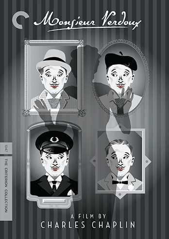 新品北米版DVD!【チャップリンの殺人狂時代】 Monsieur Verdoux (Criterion Collection) !