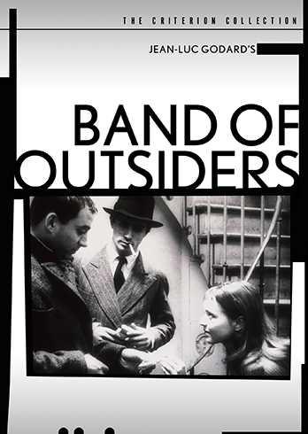 新品北米版DVD!【はなればなれに】 Band of Outsiders (Criterion Collection)!