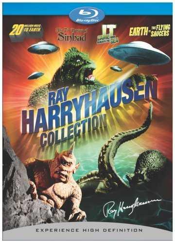 新品北米版Blu-ray!『地球へ2千万マイル』『水爆と深海の怪物』『世紀の謎・空飛ぶ円盤地球を襲撃す』『シンバッド七回目の航海』 Ray Harryhausen Box Set [Blu-ray]